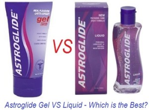 Astroglide Gel VS Liquid