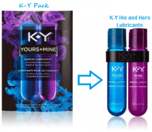 KY His And Hers Lubricant