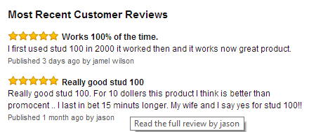 Stud 100 Review - Best Delay Spray